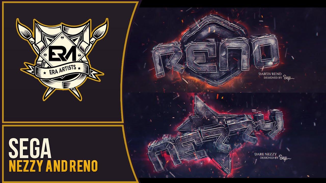 Speedart Nezzy Reno Banner Era Sega Youtube