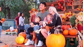 Dysfunctional Fall Family Photoshoot