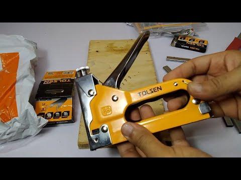 Tolsen 3 in 1 Heavy Duty 43021 Stapler with 2000 Staples - daraz unboxing