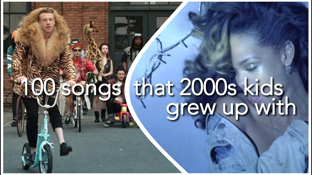 Download 100 SONGS THAT 2000S KIDS GREW UP WITH (+ SPOTIFY PLAYLIST)