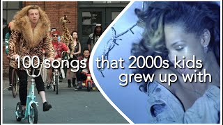 100 SONGS THAT 2000S KIDS GREW UP WITH (+ SPOTIFY PLAYLIST)