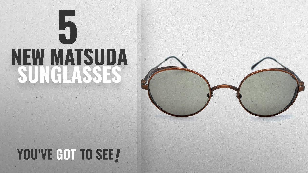 113a818bb65 Top 10 Matsuda Sunglasses   Winter 2018    Matsuda M3016 Cooper ...