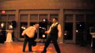 Dad And Step-dad Surprise Wedding Dance