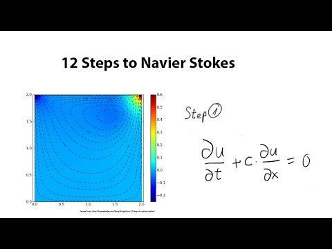 12 Steps to Navier-Stokes - Step 1