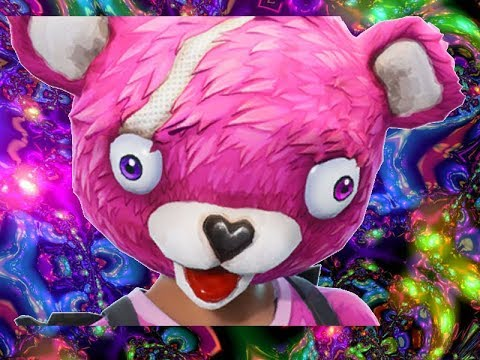 FORTNITE:PINK TEDDY BEAR  EDITION