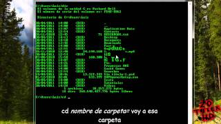 Como usar CMD / MS-DOS - Comandos - Windows - Parte 1/2 - 2011 [HD]