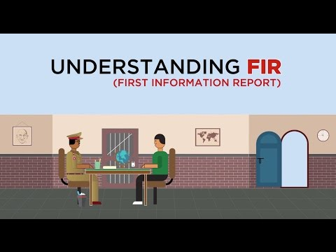 Understanding FIR (First Information Report)