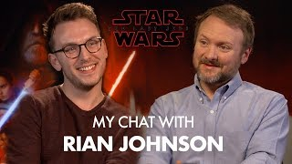My Chat with Rian Johnson