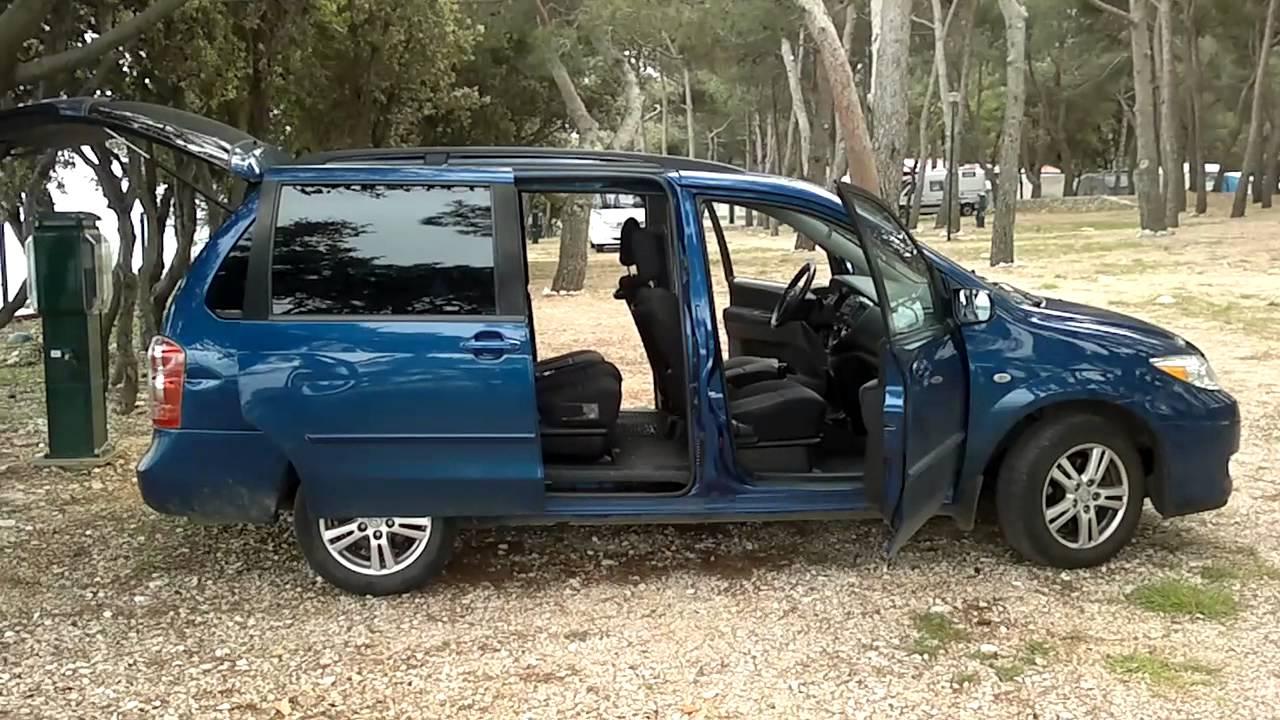 ᴴᴰ 2004 Mazda Mpv 2 0l Td Blue In