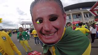 Матч Бразилия Коста-Рика глазами болельщика Brazil Costa Rica with the eyes of a fan. FIFA 2018