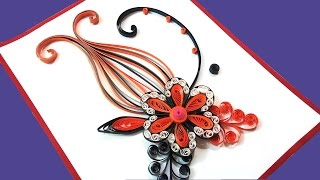 How to make a  Birthday Gift Greeting Card Ideas | Paper Quilling Art |