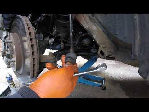 Replacement Front Stabilizer Nissan Qashqai / Замена передний стабилизатор