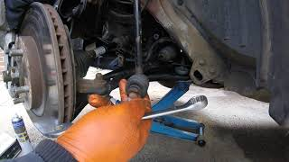 Replacement front stabilizer Nissan Qashqai / Замена передний стабилизатор