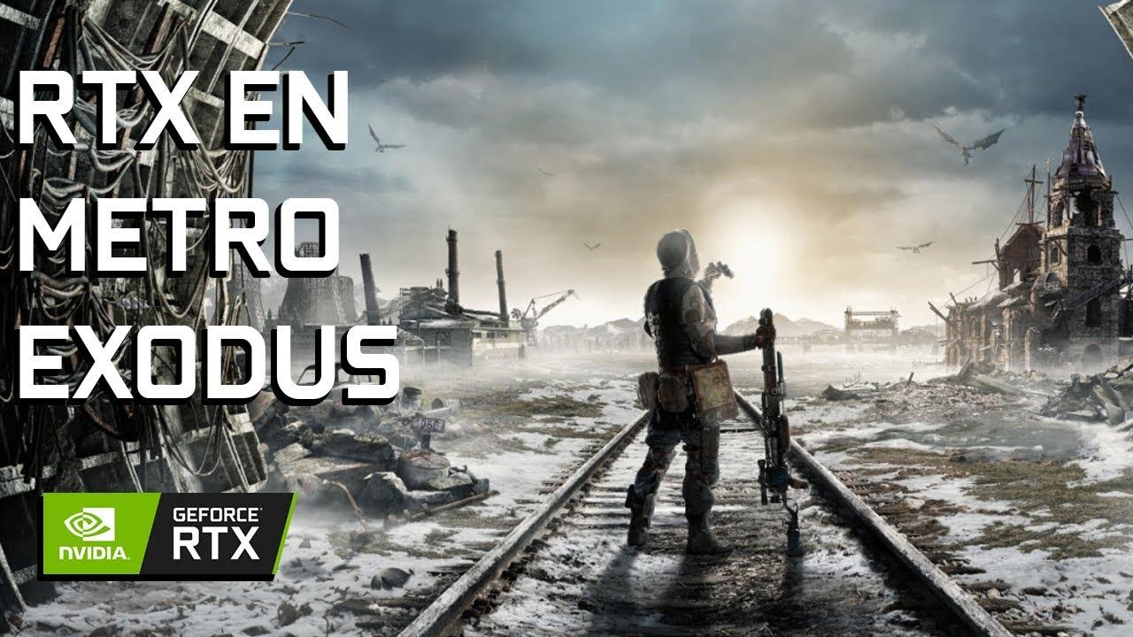 Cómo RTX ayuda a la narrativa del Metro Exodus