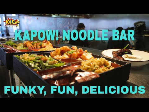Kapow! Noodle Bar: Boca Raton Florida's Funky, Fun, and Delicious New Spot.