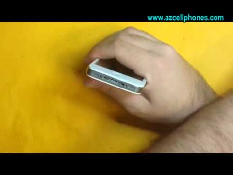 Apple iPhone 4 Repair - Back and Battery Removal - YouTube