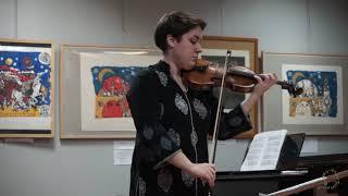 И  Брамс, соната для скрипки и фортепиано ч 1