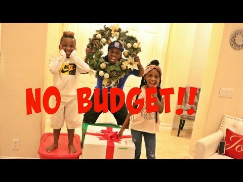 No Budget Challenge For Christmas