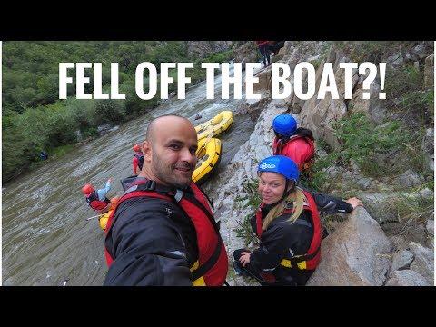 Rafting in the Rain! Struma River, Bulgaria