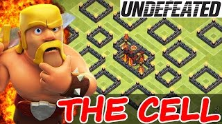 "Clash Of Clans | ""THE CELL"" WEIRDEST TROLL BASE! 
