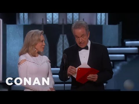 Don't Blame Warren Beatty For That Oscars Snafu  - CONAN on TBS