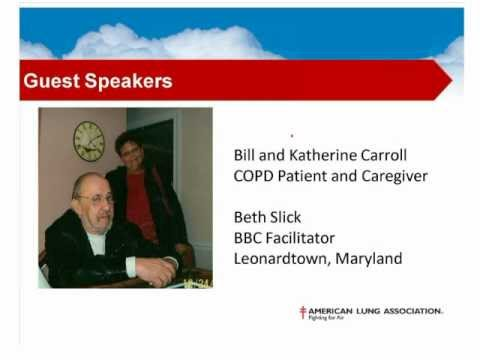 Bill and Katherine Carroll - COPD Support for Today, Solutions for Tomorrow