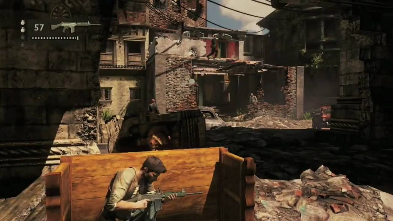 Uncharted 2 Gameplay HD - YouTube