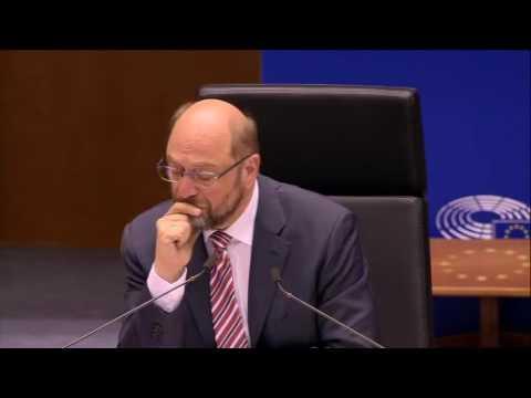 Discours après-Brexit de Jean-Claude Juncker évoquant les aliens