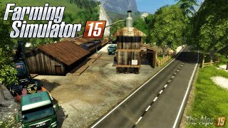 #4 MULTI AVEC JULIEN The Alps Map FS 2015 I LE BÛCHERON DE L'EXTRÊME I FARMING SIMULATOR 2015