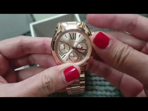 e7f0016d75ad Michael Kors Mini Bradshaw Rose-Gold Tone Watch bought from Retail store