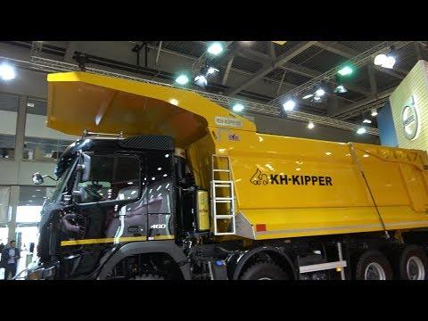 Volvo Trucks показала новый самосвал для перевозки скальных пород