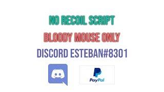 No recoil mouse