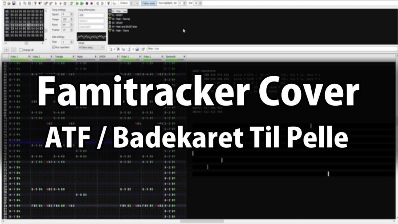 Advanced Tactical Bathtub - ATF Title Theme Famitracker Cover