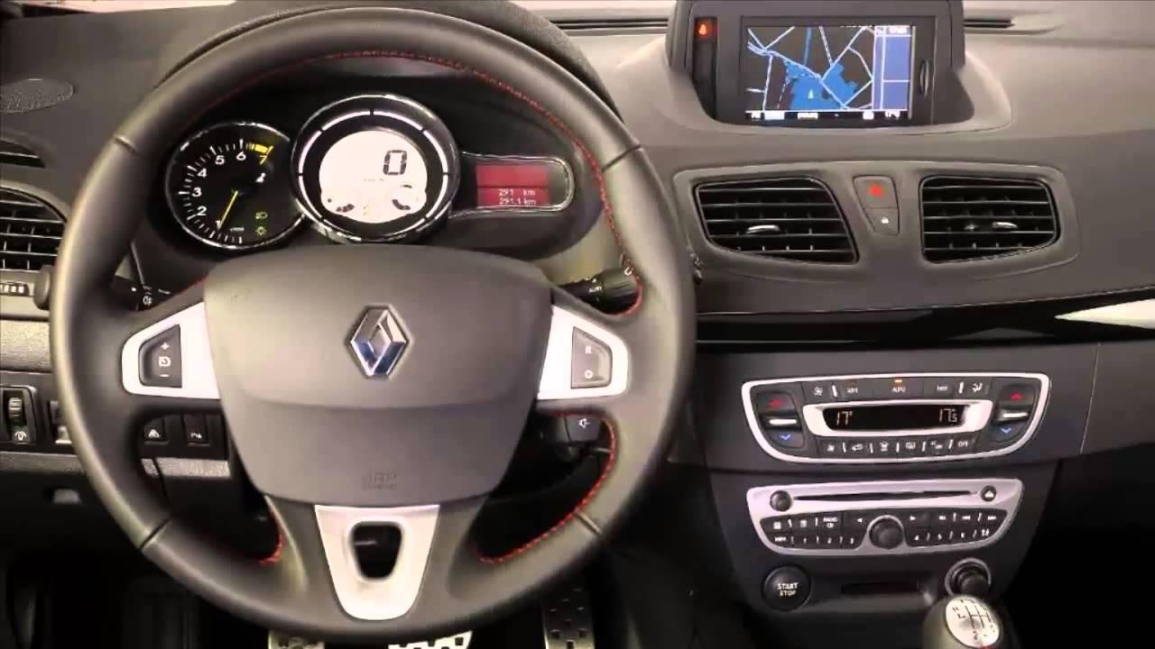 Car Interior Renault Fluence Gt Youtube