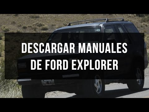 Descargar manual de usuario y taller Ford Explorer