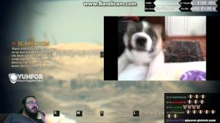 jahrein eski köpeğinin videosunu izliyor