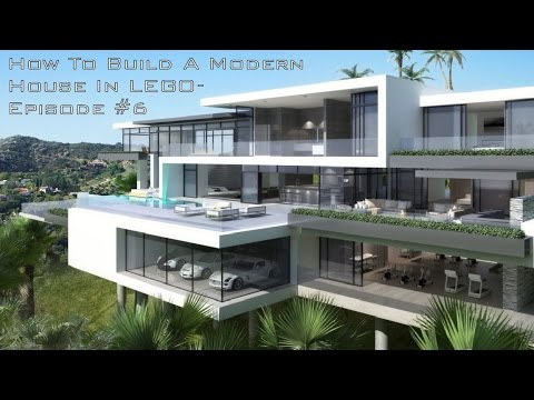How To Build A Modern House In Lego Episode 6 Youtube