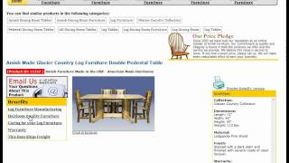 Rustic Log Cabin Furniture Dutchcrafters