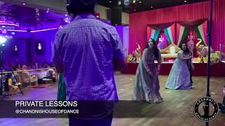 Bride Performs For Her Sangeet With Sisters and Groom | Punjabi Wedding | Bollywood Wedding Dance