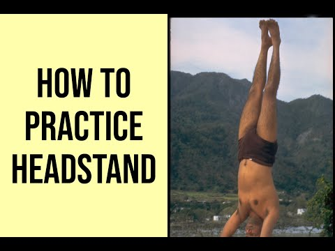 Sivananda Yoga - How to practice the Headstand posture with detailed instructions