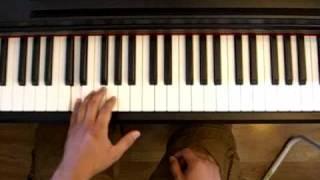 Tutorial - Eureka theme (Syfy / SciFi) on piano