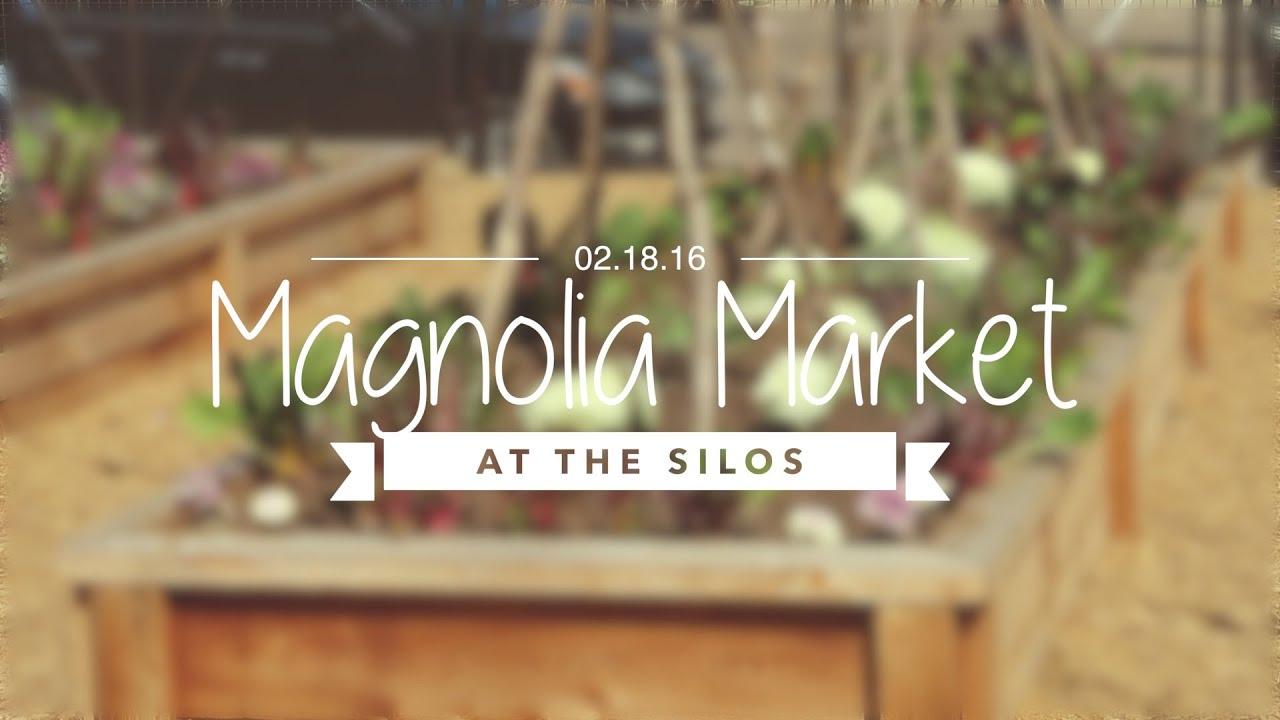 Magnolia market garden at the silos youtube for Magnolia bed and breakfast waco tx