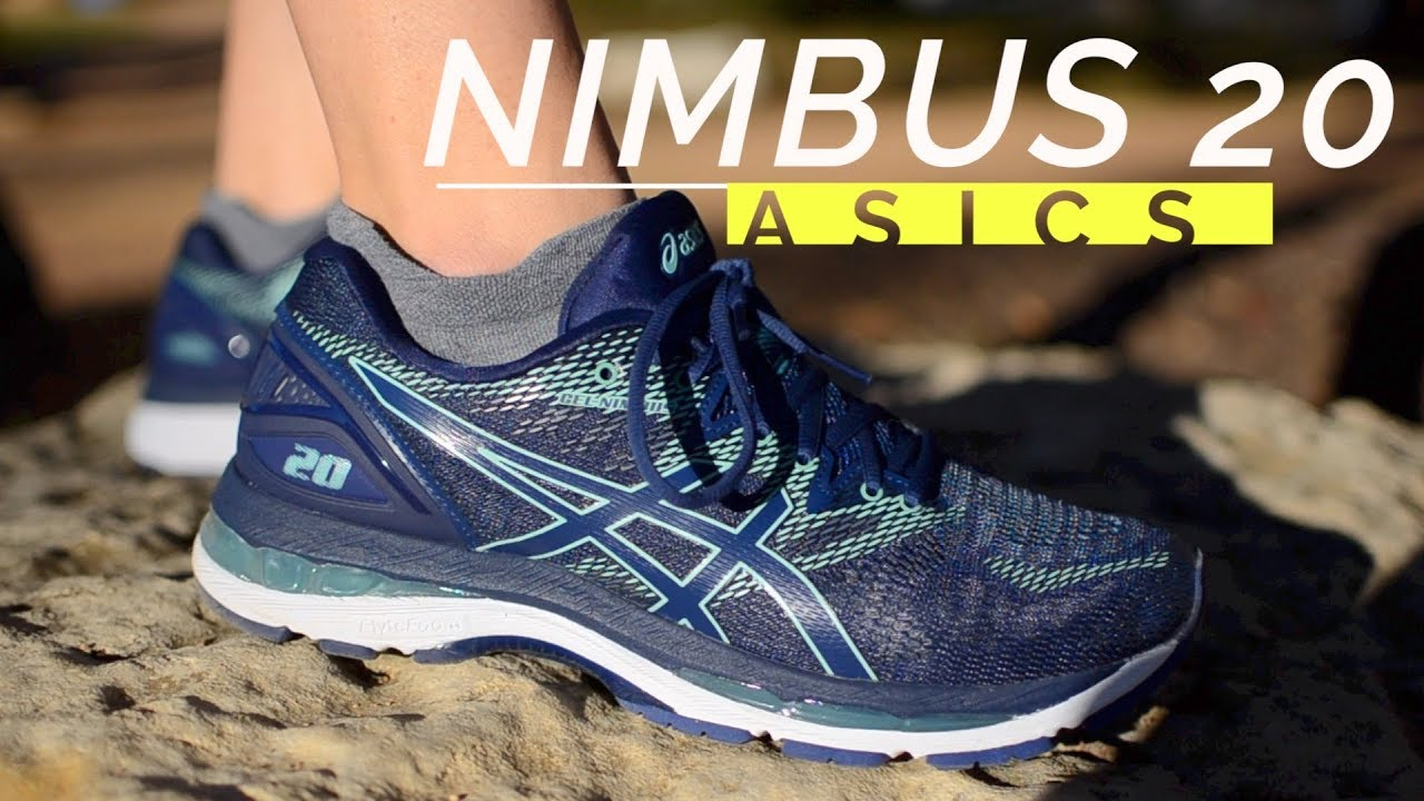 67b5b0cbb82a Asics Nimbus 20 Review - YouTube