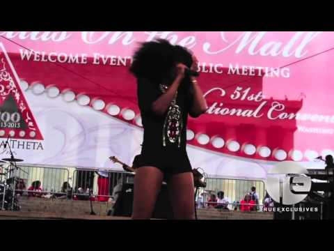 Brandy Headlines Delta Sigma Theta 100 Event & Smashes It!!