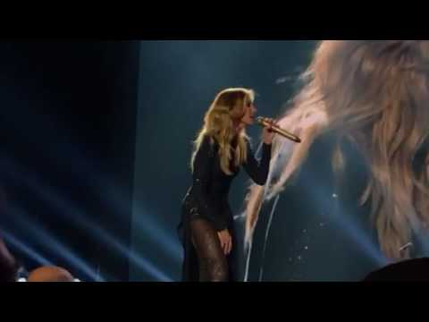 Tim McGraw and Faith Hill- I Knew You Were Waiting (For Me) and Felt Good On My Lips live in Spokane