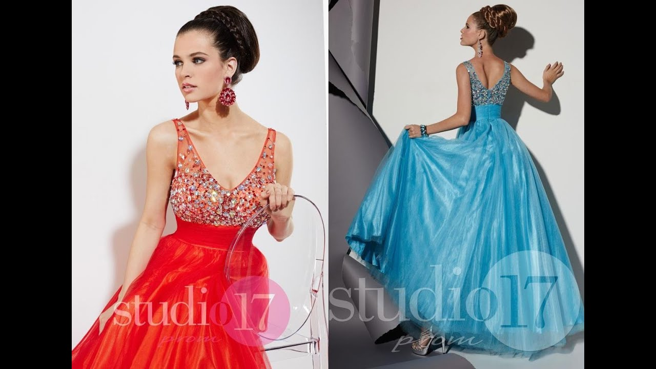 Studio 17 Prom Dress 12445 from Peaches Boutique, Chicago, IL - YouTube