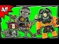 Lego Ninjago Tiger Widow Island 70604 Stop Motion Build Review video