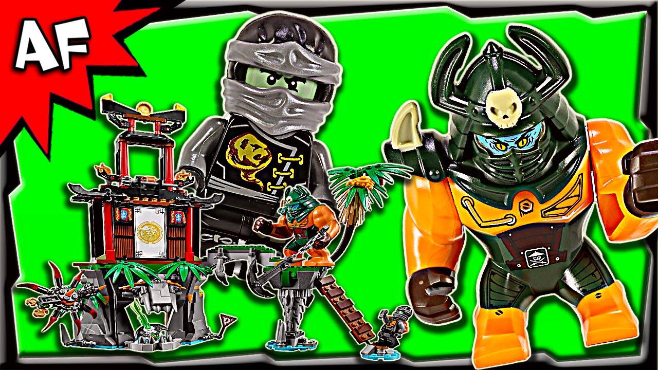 Lego Ninjago TIGER WIDOW ISLAND 70604 Stop Motion Build ...