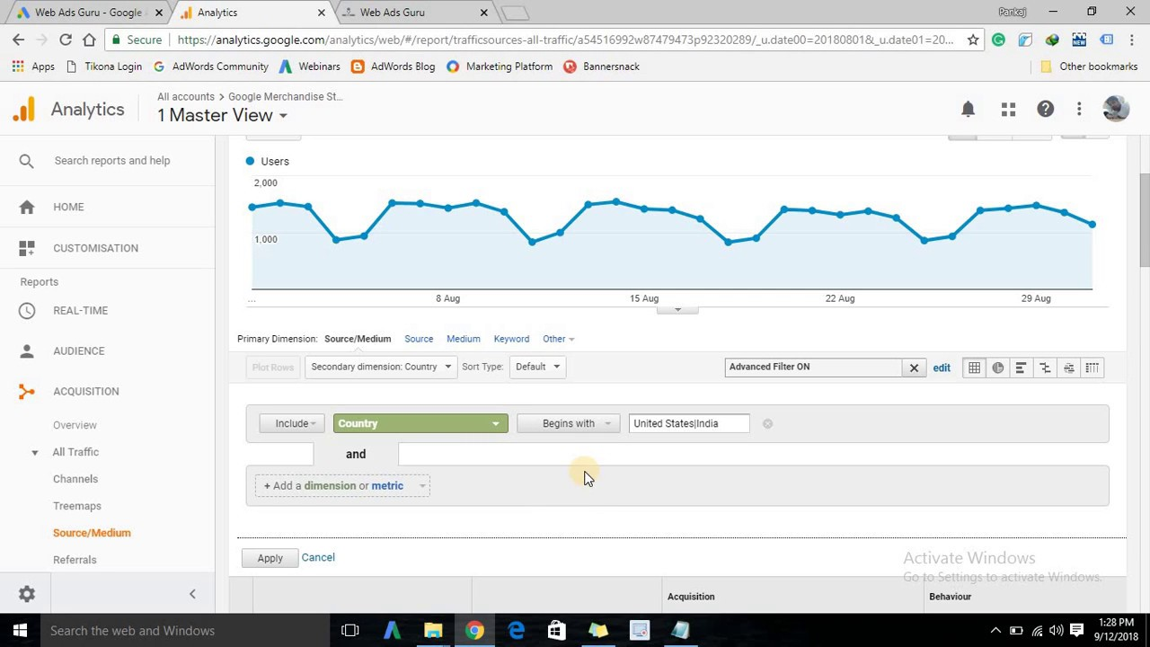How to Use Filters in Google Analytics (English)