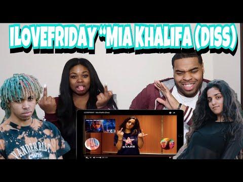 iLOVEFRIDAY - Mia Khalifa (Diss) 😱| REACTION!!!!
